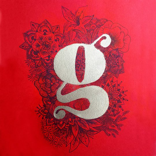 the letter g