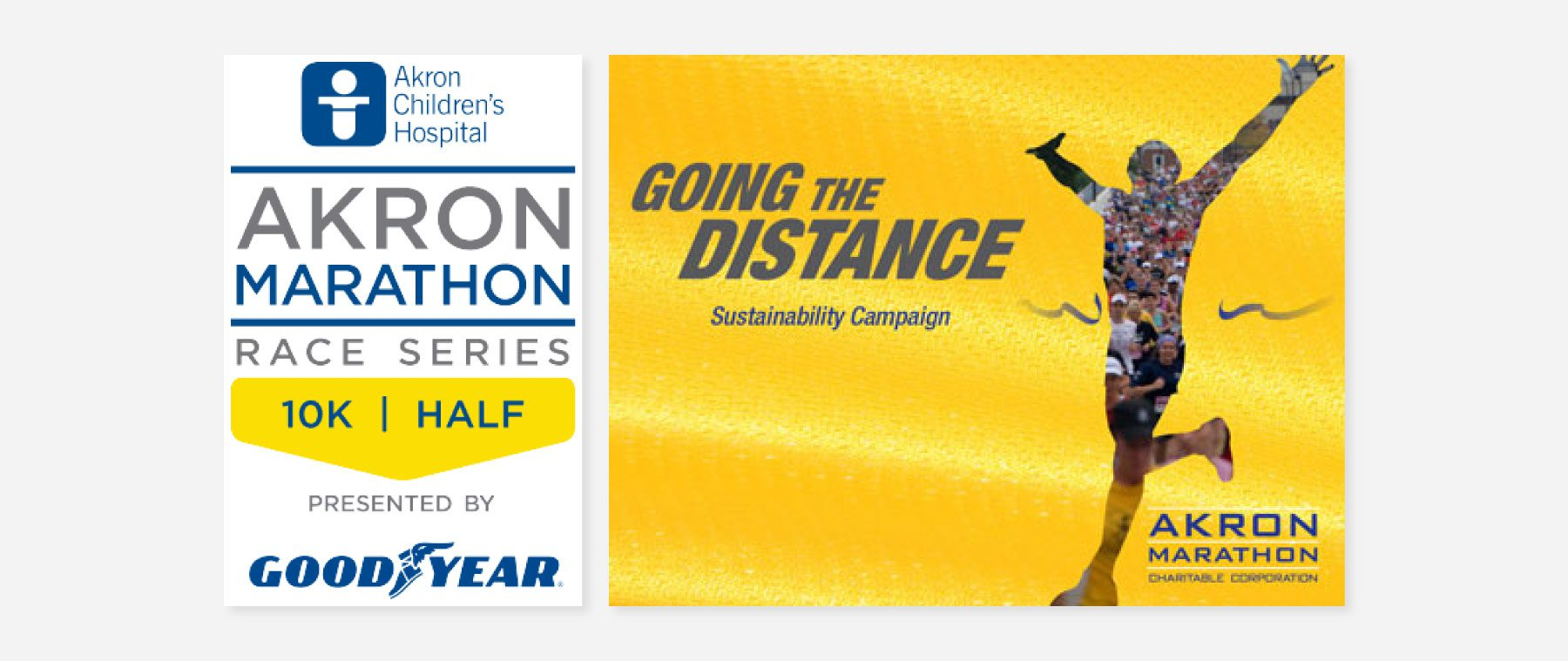 Ads created for the marathon